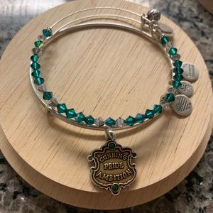 Alex and Ani Slytherin Set